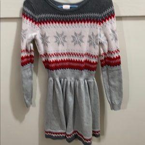 Gymboree adorable girls sweater dress
